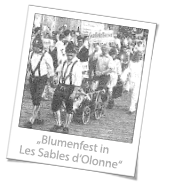 Blumenfest in Les Sables